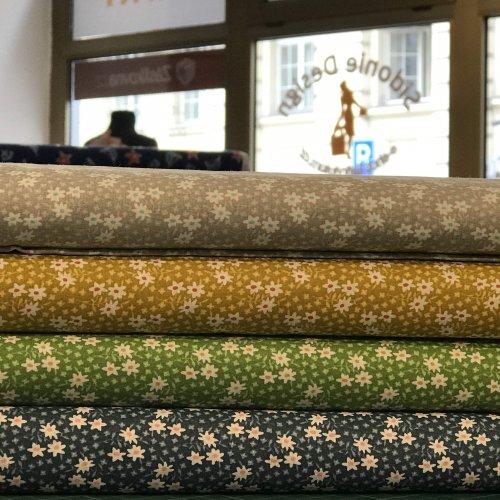 Bavlněné metrové látky na závěsy patchwork povlečení polštáře povleky