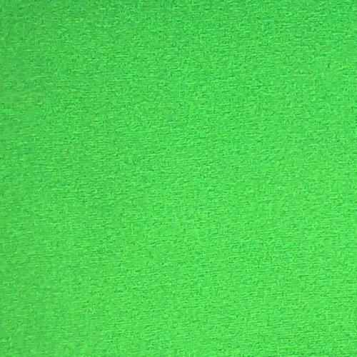 Bavlněný náplet elastický tunel jasně zelený jablíčkový patent na rukávy sukně tepláky